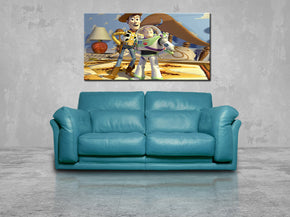 Toy Story Woody Buzz Canvas Print Giclee CA1006