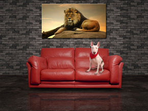 Lion Jungle Safari Animals Canvas Print Giclee