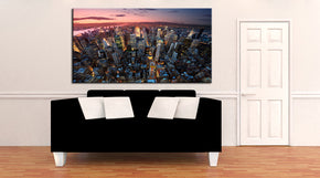 New York Cityscape Skyline Canvas Print Giclee