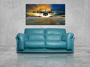 Hercules Aircraft Airplane Canvas Print Giclee