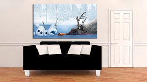 Frozen Canvas Print Giclee CA1137