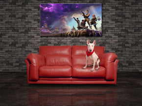 Fortnite Canvas Print Giclee CA1149