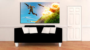 Fortnite Canvas Print Giclee CA1150
