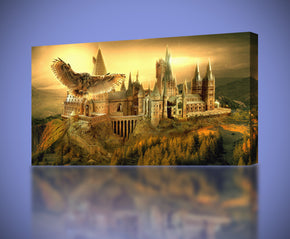 Harry Potter Hogwarts Canvas Print Giclee CA139