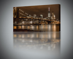 New York Brooklyn Bridge NY Canvas Print Giclee