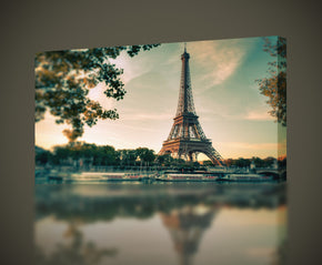 Eiffel Tower Paris Canvas Print Giclee