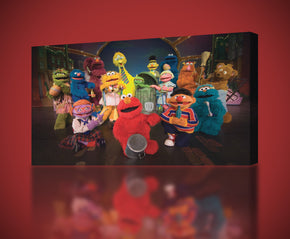 Kids TV Series Characters Canvas Print Giclee CA355