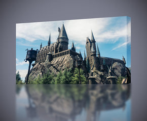 Harry Potter Hogwarts Castle Canvas Print Giclee CA589