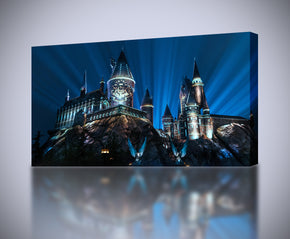 Harry Potter Hogwarts Castle Canvas Print Giclee CA603
