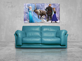 Frozen Canvas Print Giclee CA650
