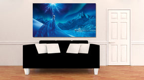 Frozen Canvas Print Giclee CA651