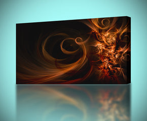 Feather Waves Canvas Print Giclee
