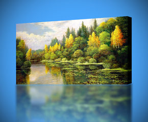 River Canvas Print Giclee