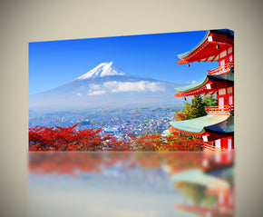 Mount Fuji Japan Canvas Print Giclee
