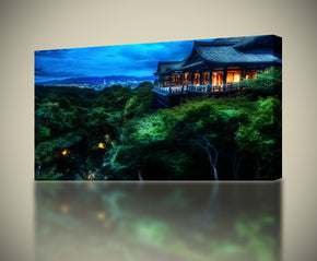 Night In Japan Canvas Print Giclee