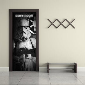 Star Wars Stormtroopers Personalized DOOR WRAP Decal Removable Sticker D126