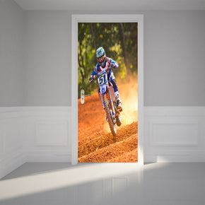 Motocross DIY DOOR WRAP Decal Removable Sticker D233