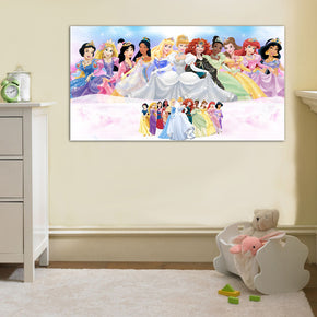 Disney Princesses Canvas Print Giclee