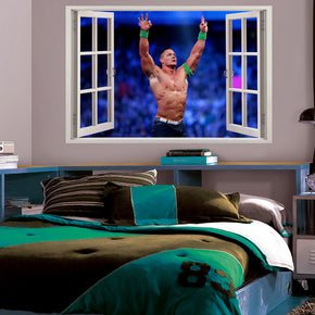 WWE John Cena 3D Window Wall Sticker Decal H243