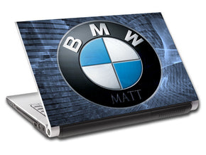 BMW Personalized LAPTOP Skin Vinyl Decal L01