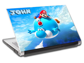 Video Games Personalized LAPTOP Skin Vinyl Decal L07