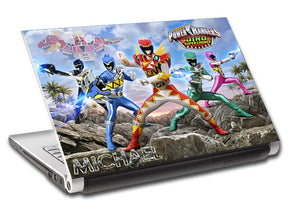 Power Rangers Personalized LAPTOP Skin Vinyl Decal L136