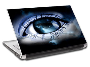 Abstract Eye Personalized LAPTOP Skin Vinyl Decal L13