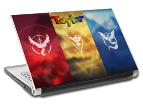 Pokemon Personalized LAPTOP Skin Vinyl Decal L269
