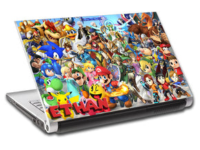 Video Games Personalized LAPTOP Skin Vinyl Decal L314
