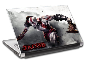 Video Games Personalized LAPTOP Skin Vinyl Decal L315