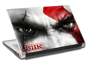 Video Games Personalized LAPTOP Skin Vinyl Decal L316