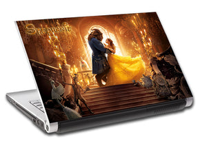 Beauty & The Beast Personalized LAPTOP Skin Vinyl Decal L415