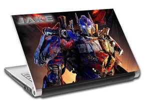 Transformers Personalized LAPTOP Skin Vinyl Decal L428