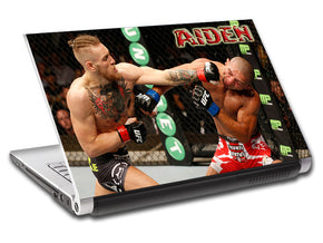 Fighting Personalized LAPTOP Skin Vinyl Decal L478