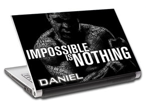 Boxing Personalized LAPTOP Skin Vinyl Decal L492