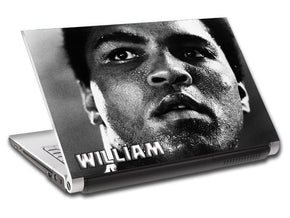 Boxing Personalized LAPTOP Skin Vinyl Decal L493