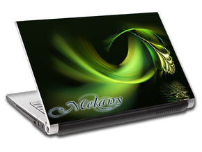 Abstract Personalized LAPTOP Skin Vinyl Decal L50
