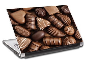 Chocolate Candy Personalized LAPTOP Skin Vinyl Decal L516