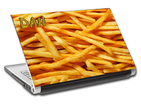 French Fries Personalized LAPTOP Skin Vinyl Decal L518