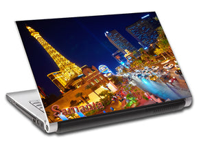 Las Vegas Strip Landscape Personalized LAPTOP Skin Vinyl Decal L533