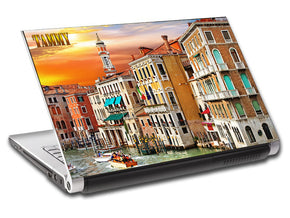 Venice Sunset Landscape Personalized LAPTOP Skin Vinyl Decal L535