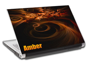 Abstract Tribals Personalized LAPTOP Skin Vinyl Decal L549