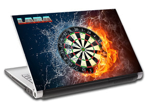 Darts Board Personalized LAPTOP Skin Vinyl Decal L565