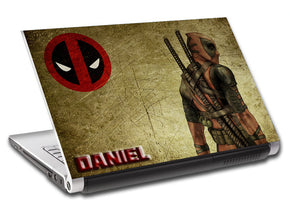 Deadpool Personalized LAPTOP Skin Vinyl Decal L645