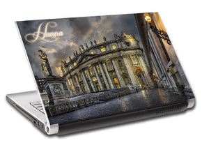 Vatican City Rome Personalized LAPTOP Skin Vinyl Decal L647