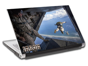 Skydive Plane Jump Army Personalized LAPTOP Skin Vinyl Decal L693