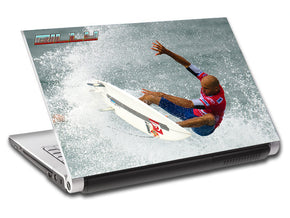 Wave Surfing Personalized LAPTOP Skin Vinyl Decal L694