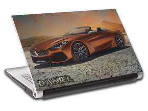 BMW Luxury Car Personalized LAPTOP Skin Vinyl Decal L709
