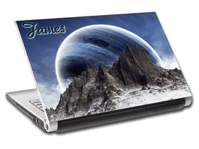 Fantasy Planet Personalized LAPTOP Skin Vinyl Decal L70