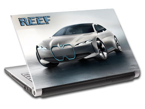 Luxury Car Personalized LAPTOP Skin Vinyl Decal L710